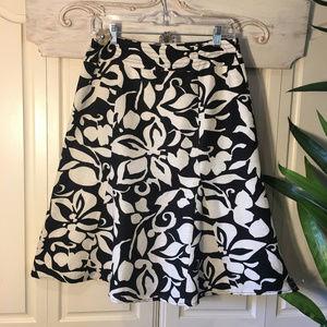 Chico's Skirts - Chico's Printed Silk Skirt, Size XS
